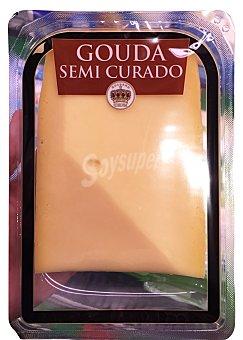 HOLL.CORONA Queso gouda semicurado 350 g peso aprox.