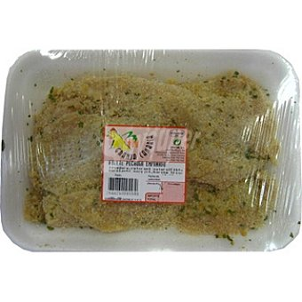 GRANJA CANARIA Filetes de pechuga de pollo empanados peso aproximado Bandeja 550 g