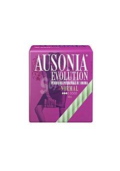 AUSONIA Evolution Compresas Normal para pérdidas pequeñas de orina 12 Unidades