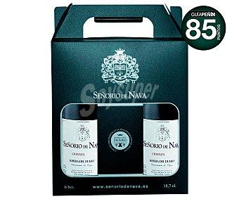 Señorio de Nava Vino tinto crianza D.O. Ribera del Duero Pack 6 x 18.7 cl