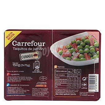 Carrefour Jamón curado en tiras 150 g