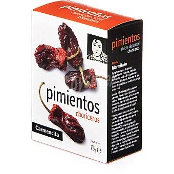 Carmencita Pimientos choriceros Bandeja 75 g