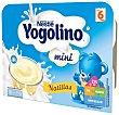 Natillas de vainilla especiales para bebés a partir de 6 meses mini 6 x 60 g Yogolino Nestlé
