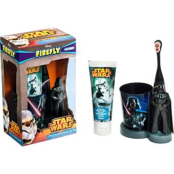 Star Wars Set dental con cepillo + pasta dentífrica + vaso estuche 1 unidad Tubo de 75 ml