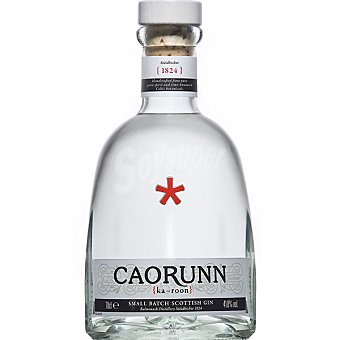 CAORUNN ginebra de importación escocesa botella 70 cl