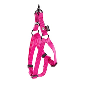 Martin Sellier Arnés de nylon rosa para perros mini modelo Baudrier medidas 10mm-25/35cm 1 unidad
