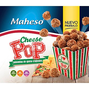 Maheso Palomitas de queso crujientes Cheese Pop Bolsa 300 g