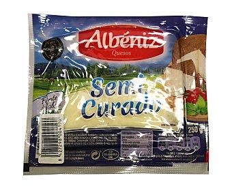 Albeniz Queso mezcla semicurado abeniz 250 g