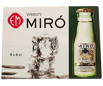 Miro Vermouth blanco Botella de 6 cl
