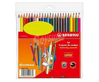Stabilo Caja de 24 pinturas de colores vivos 1 unidad