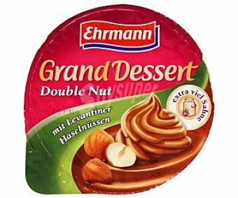 Ehrmann Postre lácteo de chocolate con avellanas y extra de nata Grand Desert 200 gramos