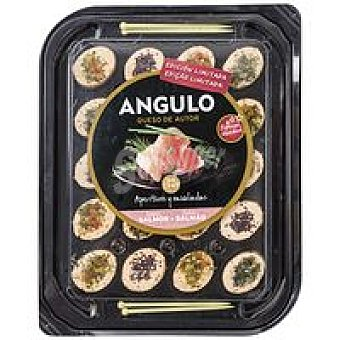 Angulo Aperitivos de salmon Tarrina 100 g