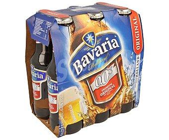 Bavaria Cervezas sin alcohol (0,0% Vol.) Pack de 6 botellas de 25 centilitros