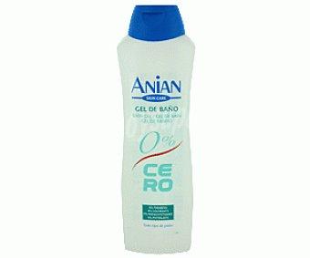 Anian Gel de baño o ducha para todo tipo de pieles 750 mililitros