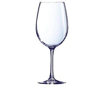 Auchan Copa de vino modelo Cabernet, con capacidad de 47 centilitros 1 unidad