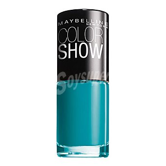 Maybelline New York Vao color show 120 urban turquoi