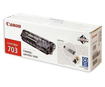 Canon Tóner 703 Negro, compatible con impresoras: LBP2900/3000