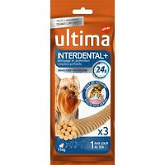 Ultima Affinity Dog snacks interdental+toy Trial Pack 3 unidades