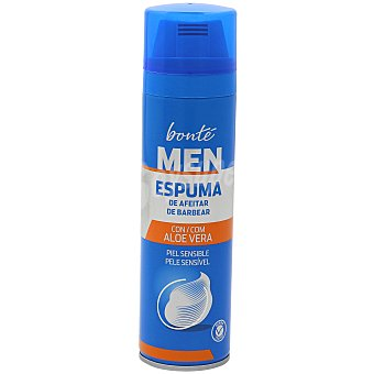 Bonté Espuma de afeitar piel sensible Spray 250 ml