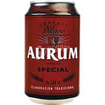 Cervezas Aurum Cerveza especial Lata 33 cl