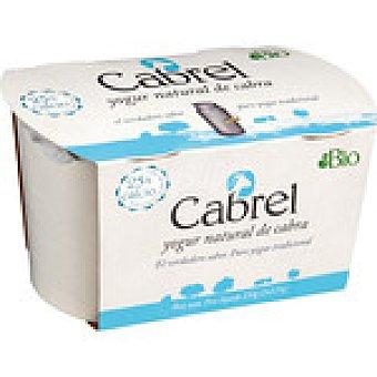CABREL yogur griego de cabra ecológico  pack 2 envases 125 g
