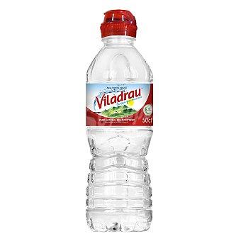 Viladrau Nestlé Agua mineral, tapón sport Botella de 50 centilitros