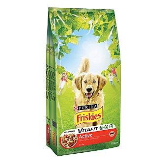 Purina Friskies Vitafit Active Pienso para Perro Adulto Buey 10Kg 10 kg
