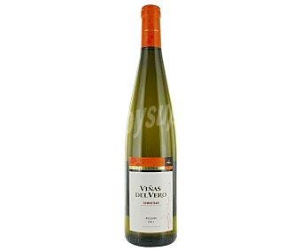 Viñas del Vero Vino blanco con denominación de origen Somontano Botella de 75 cl