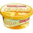 Crema de queso cheddar para untar Tarrina 125 g Reny Picot