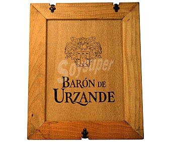Baron de Urzande Vino Tinto Reserva 2001 en Estuche de Madera Estuche 3 Botellas de 75 Centilitros