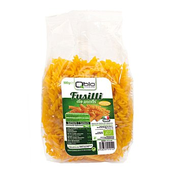 Qbio Fusilli de maiz bio - Sin Gluten 500 g