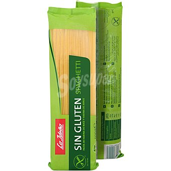 La Isleña Spaghetti de pasta de harina de maíz y harina de arroz sin gluten envase 500 g envase 500 g