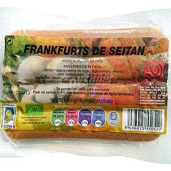 INTEGRAL ARTESANS Frankfurt de seitan ecologico Envase 190 g