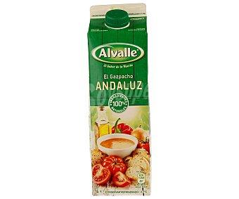 Alvalle Gazpacho andaluz de hortalizas frescas envase 1 l