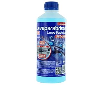 Krafft Liquido limpiaparabrisas con efecto anti-lluvia 1 litro