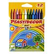 Barras de colores 12u Plastidecor Bic