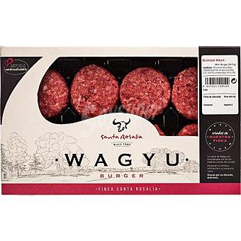NUESTRO BUEY WAGYU Minihamburguesas de buey bandeja 270 g 270 gr (8 unidades)