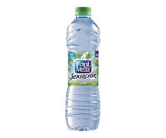 Font Vella Sensación, agua sabor manzana Botella 1,25 litros