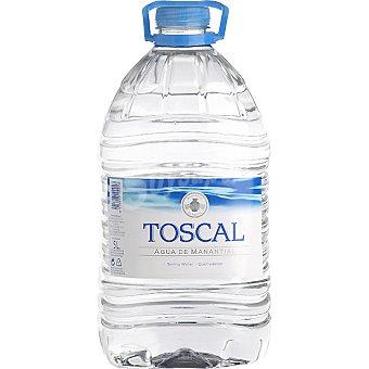 TOSCAL Agua mineral Garrafa 5 l