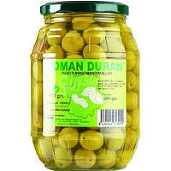 Román Durán Aceitunas con hueso Frasco 600 g