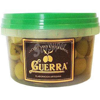 Guerra Aceitunas manzanillas sin hueso Tarrina 250 g