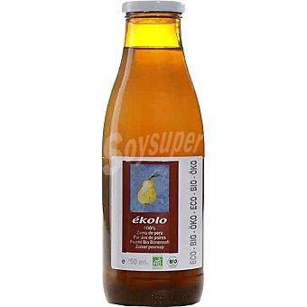 EKOLO zumo de pera 100% envase 750 g