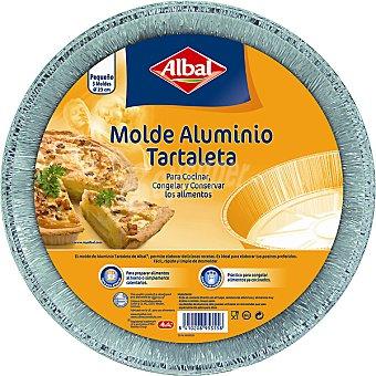 Albal Moldes de aluminio tartaleta 23cm 3 unidades