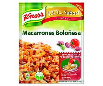 Knorr Macarrones a la boloñesa Sobre 52 g