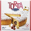 torta con crema de avellana sin gluten envase 400 g Bonomi