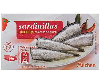 Auchan Sardinillas Picantes 65 Gramos