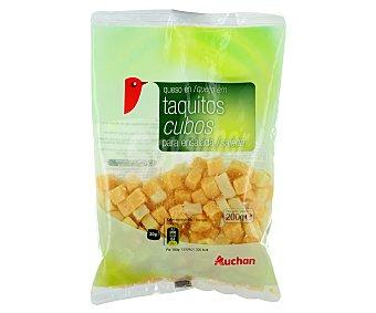 Auchan Queso en tacos para ensalada 200 gramos