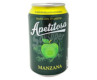 Bebida de manzana apetitosa 33 cl