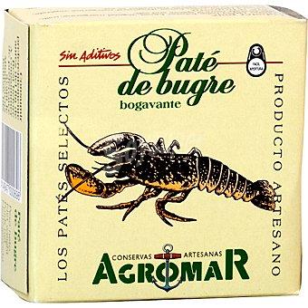 Agromar Paté de bogavante Lata 100 g neto escurrido