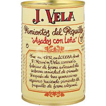 J. vela Pimiento de piquillo artesano extra Lata 330 g
